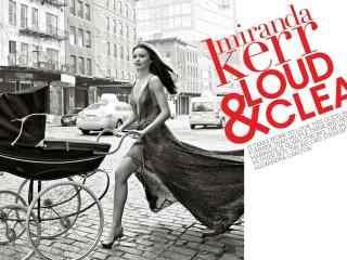 时尚辣妈米兰达可儿杂志封面图片桌面壁纸