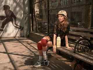时尚模特米兰达可儿休闲风写真图片