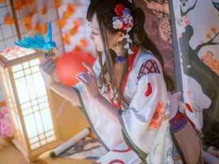阴阳师花鸟卷cosplay图片