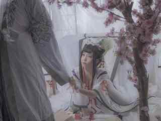 阴阳师花鸟卷cosplay壁纸