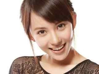 刘萌萌微笑写真图片壁纸