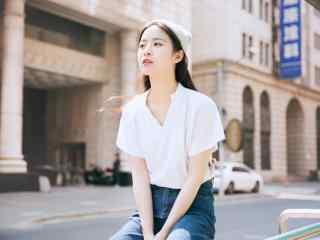 女生节-清纯女大学生街拍图片