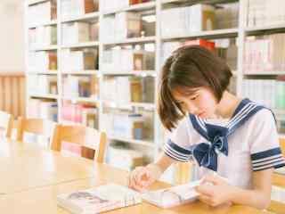 女生节-清纯女大学生壁纸