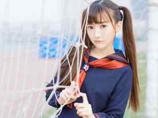 JK制服—萌萌哒的少女桌面壁纸
