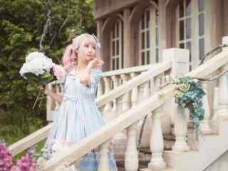 lolita洋装—可爱软萌的少女桌面壁纸