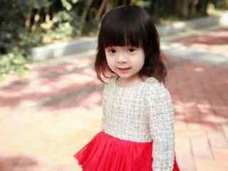 可爱的小公主哈琳桌面壁纸