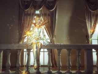 十大元素光明拉克丝cos美女桌面壁纸