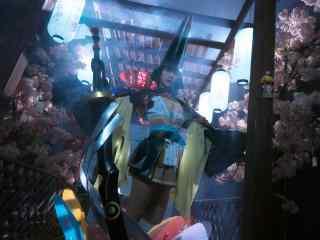 美女cosplay妖刀姬唯美壁纸