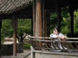 江南乌镇之民国风美女壁纸