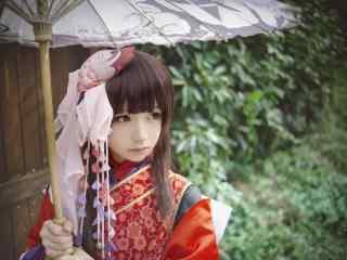网易阴阳师神乐cosplay壁纸