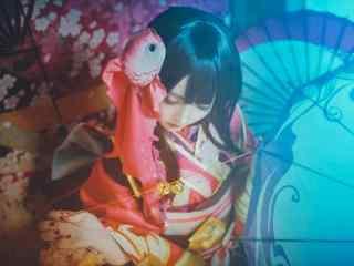阴阳师神乐cosplay壁纸