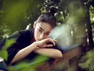 张馨予最美时尚杂志写真桌面壁纸