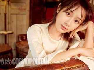 杨紫时尚杂志写真桌面壁纸