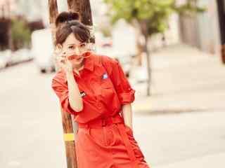 杨紫时尚潮流写真壁纸