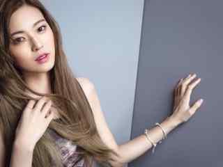 王妍之时尚写真桌面壁纸