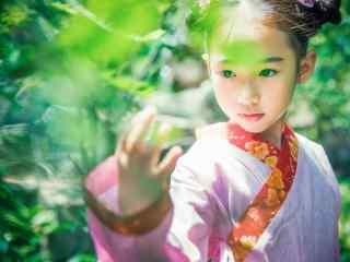 儿童节之小美女古装写真壁纸