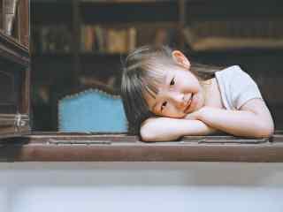 儿童节之萌萌哒小女孩桌面壁纸
