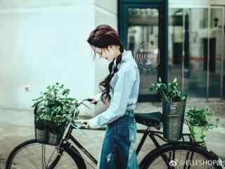 陈瑶小清新文艺写真图片