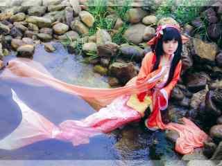 阴阳师可爱的鲤鱼精cosplay壁纸