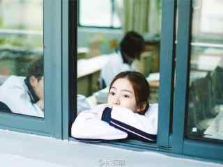 开学季之校园美女写真壁纸