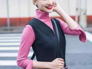 明星美女写真杨洋短发图片曝光时尚街拍演绎糖心美人极品诱惑