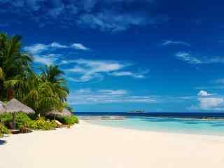 电脑高清壁纸马尔代夫壁纸度假村2k风景壁纸海滩壁纸唯美壁纸风景壁纸
