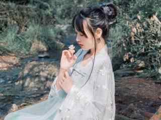 古装美女壁纸性感美女清纯美唯美高清清新写真古装美女汉服艺术摄影极品诱惑