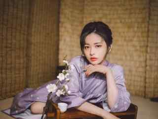 日本美女壁纸妩媚撩人和服美女写真图片电脑壁纸性感美女诱惑抚媚私房照