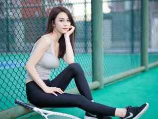 性感美女壁纸长发性感身材网球运动美女2k壁纸性感美腿美女制服艺术摄影壁纸