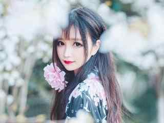 日本美女壁纸甜美大眼和服美女唯美高清桌面壁纸性感美腿美女制服艺术摄影极品诱惑