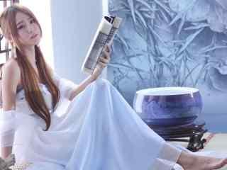 古装美女壁纸古装美女小雪庄温妮桌面壁纸性感美腿美女制服艺术摄影壁纸