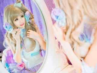 萝莉lovelive南小鸟cosplay写真高清壁纸图片