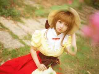 魔卡少女樱cosplay桌面壁纸