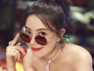 高圆圆时尚芭莎漂亮迷人写真图片桌面壁纸
