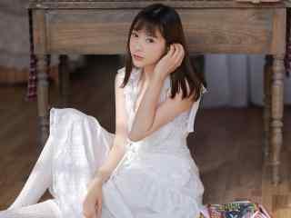 白纱长裙美女性感