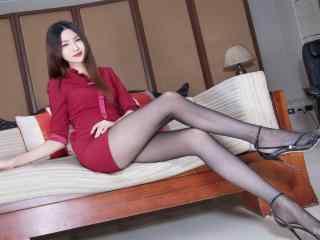 性感台湾美女腿模图片高清桌面壁纸