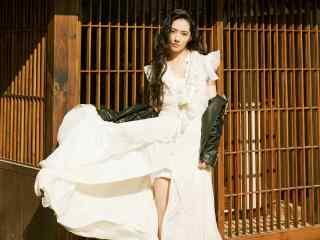 郭碧婷华丽优美时尚杂志写真图片桌面壁纸