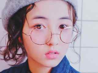 元气少女张子枫原宿风高清写真图片