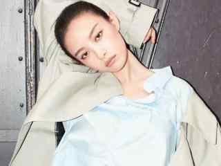 倪妮时尚魅力写真高清图片桌面壁纸