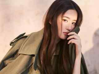 演员刘亦菲最新杂志时尚魅力写真高清壁纸图片