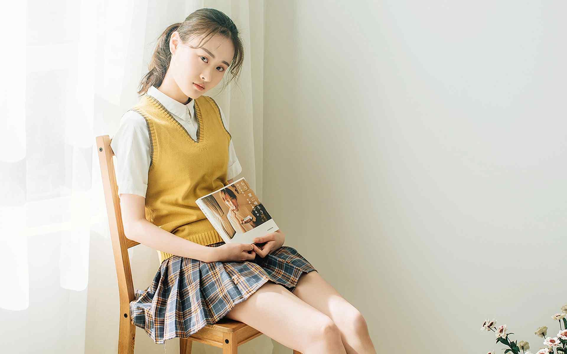 甜美台湾妹性感私房写真