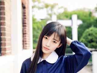 SNH48鞠婧祎清新唯美图片