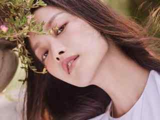 倪妮文艺清新写真图片
