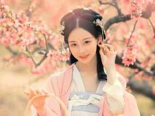 甜美仙气古装美女高清壁纸