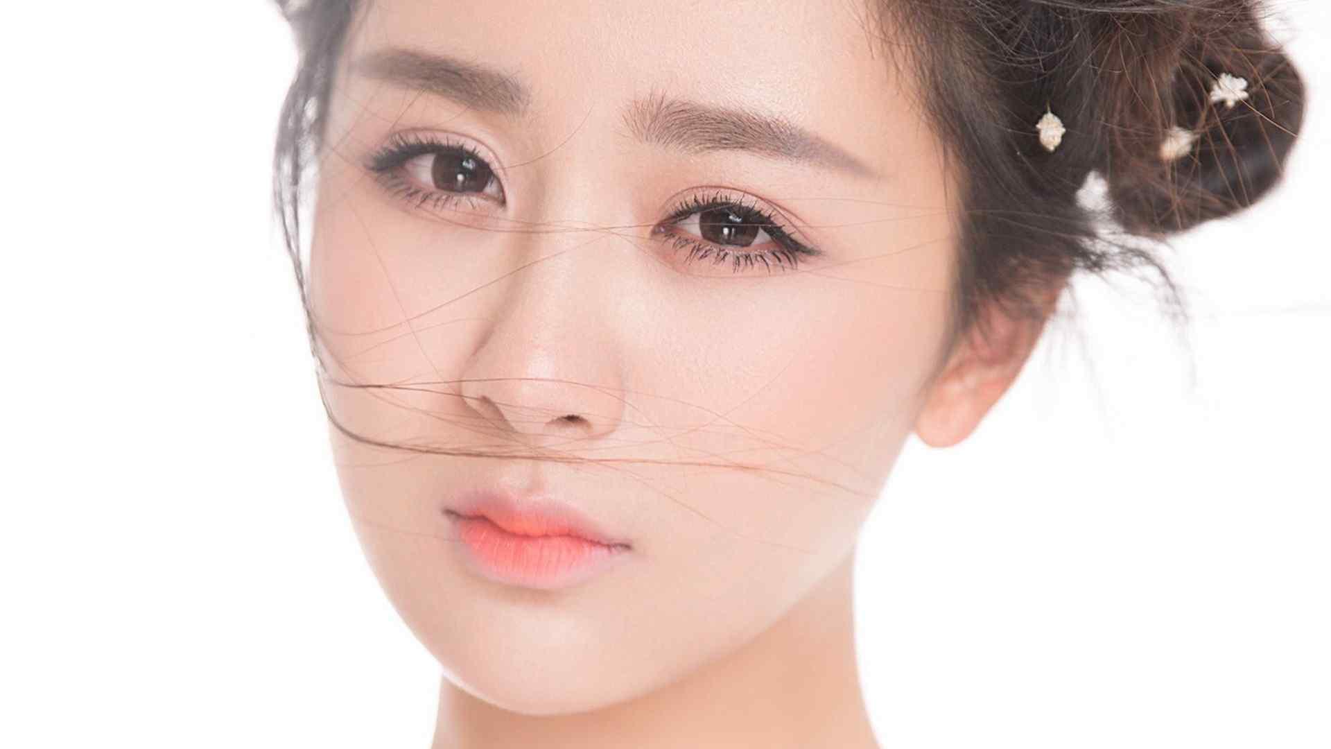 杨紫清新唯美古妆高清壁纸