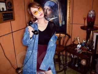 杨紫艺术写真图片