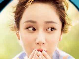 杨紫清新少女写真图片
