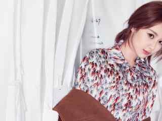 杨紫清新靓丽写真图片