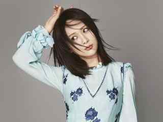 杨紫时尚杂志唯美写真图片
