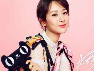 杨紫清纯可爱粉嫩短发图片